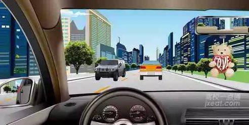 驾照科目四模拟考试题插图(5)