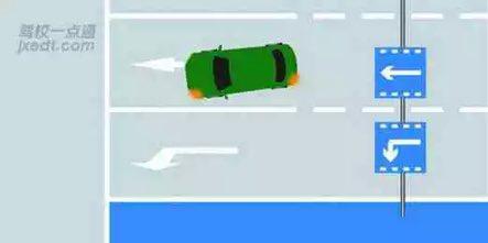 驾照科目四模拟考试题插图(27)