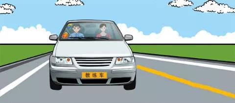 驾照科目四模拟考试题插图(8)