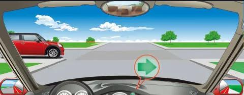 驾照科目四模拟考试题插图(44)