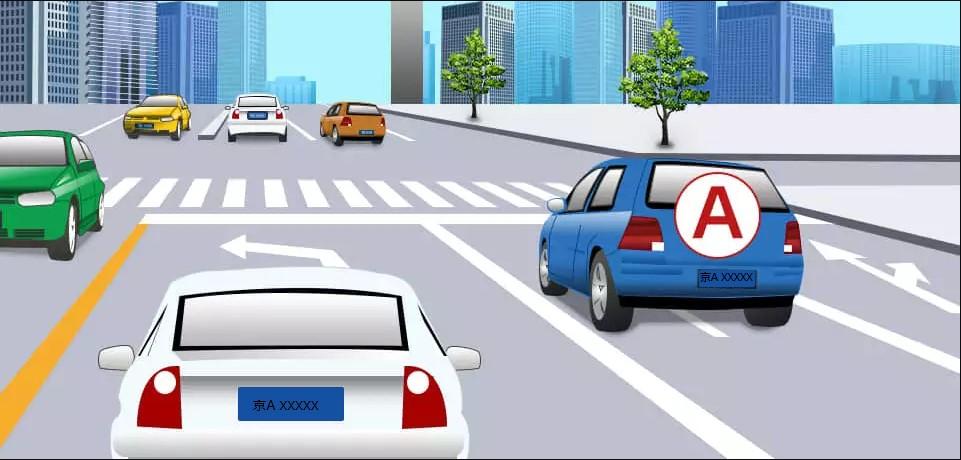 驾照考试科目一仿真考试100题c1插图(41)