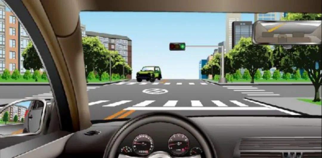 驾照考试科目一仿真考试100题c1插图(1)