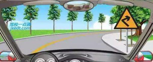 驾照考试科目一仿真考试100题c1插图(34)