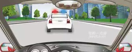 驾照考试科目一仿真考试100题c1插图(17)