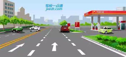 驾照科目四模拟考试题插图(36)