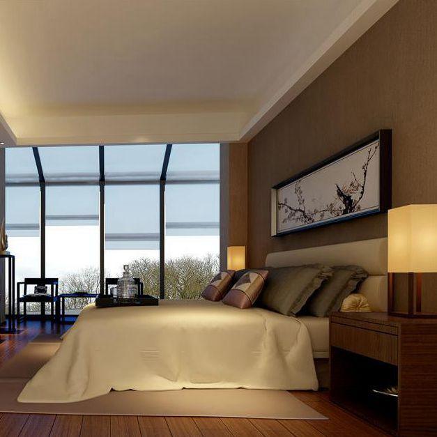 小清新之简约式客厅装修效果图