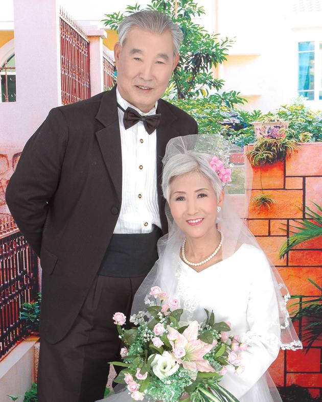 老年婚纱照