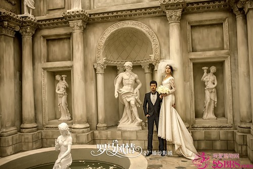 罗马婚纱照