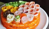 曼谷旅游,寿司蛋糕